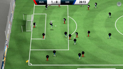 Stickman Soccer 2016 iPhone app afbeelding 1