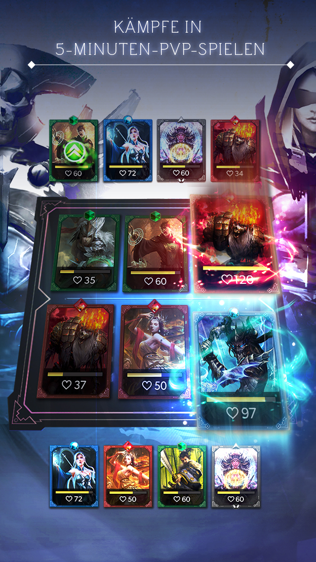 Deckstorm: Duel of Guardians iOS Screenshots