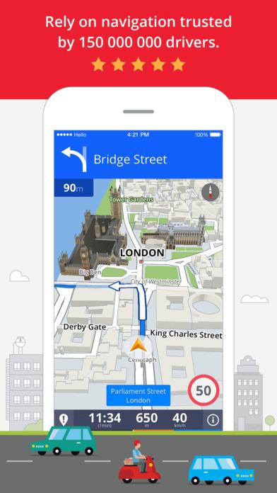 Sygic Europe: Navigation, TomTom offline maps Screenshot