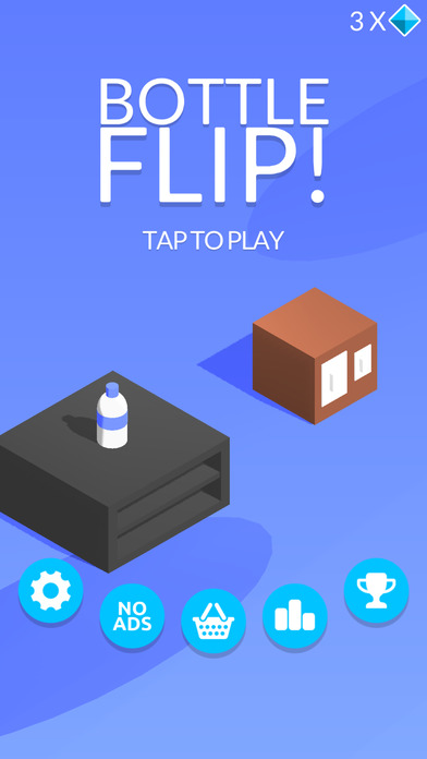 Bottle Flip! iOS Screenshots