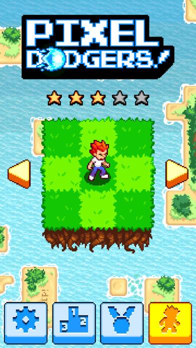 Pixel Dodgers iOS Screenshots