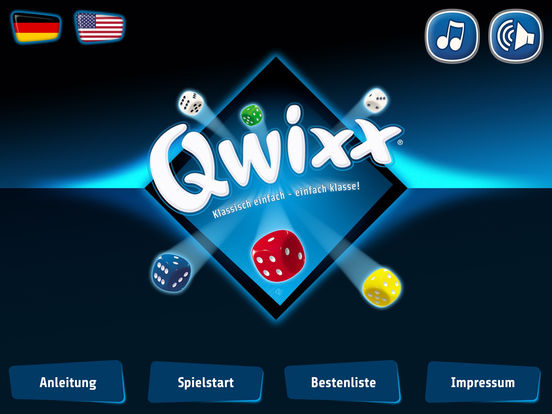 Qwixx iOS Screenshots