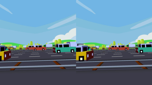 VR Crossy for Google Cardboard Screenshot