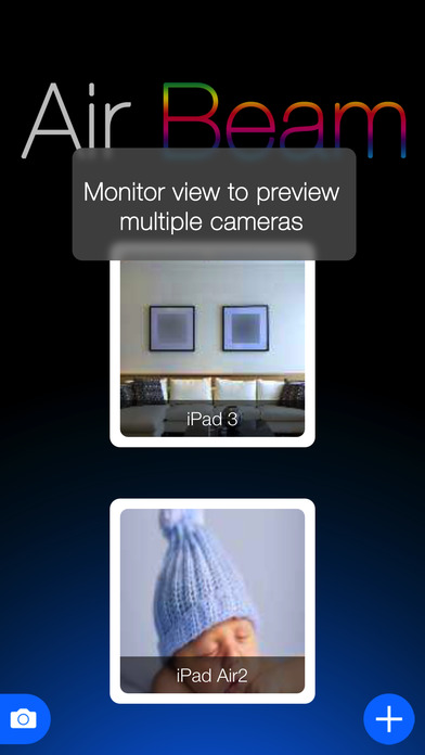AirBeam - video surveillance and motion detection Screenshots