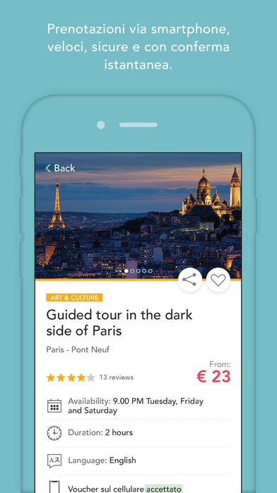 Musement - Attività turistiche Screenshot