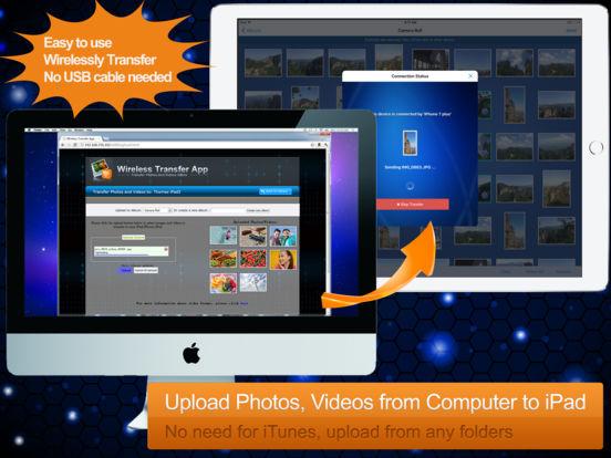 Wireless Transfer App -  Backup Fotos und Videos Screenshot