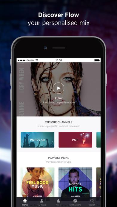 Deezer iOS