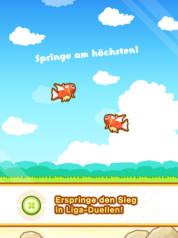 Screenshot 3 Pokémon: Karpador Jump