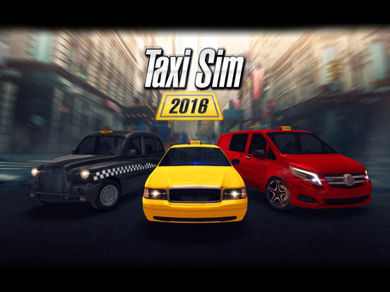 Screenshot 1 Taxi Sim 2016