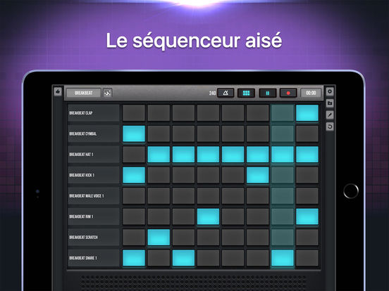 Screenshot #5 pour Beat Pads - Studio Musical Pro