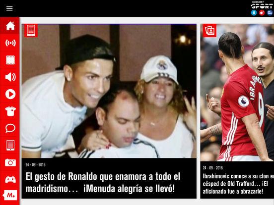 Mediaset Sport - Deportes Cuatro en directo Screenshot