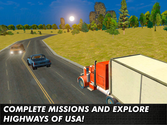 Heavy Cargo Truck Simulator 3D Full Screenshots