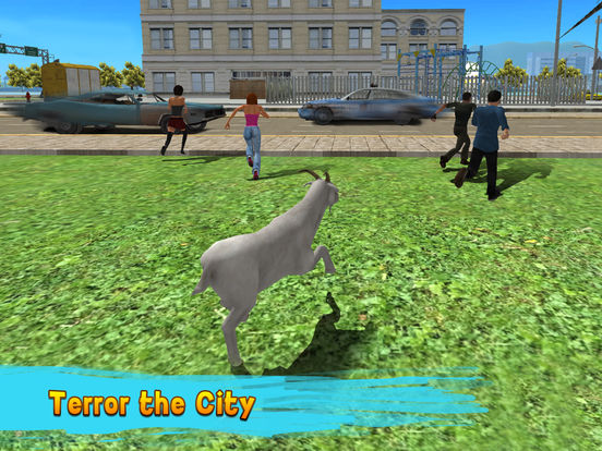 City Goat: Animal Survival Simulator 3D Full Screenshots