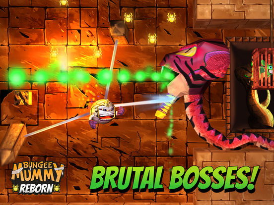 Bungee Mummy: Reborn Screenshots