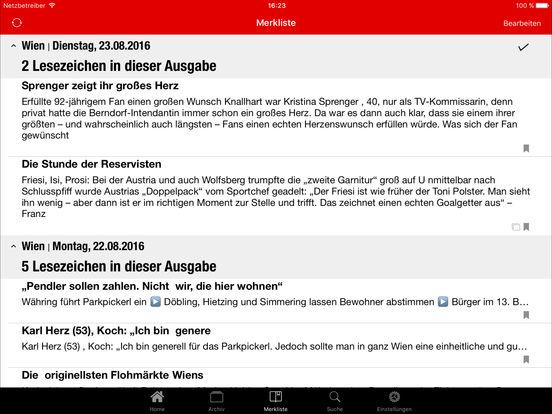 Krone epaper im app store for Englisch krone