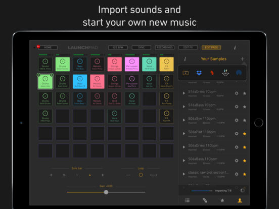 Novation Launchpad - Make & Remix Music Screenshot