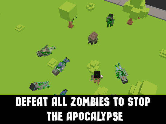 Cube Zombie Killer: Apocalypse Survival Full Screenshots