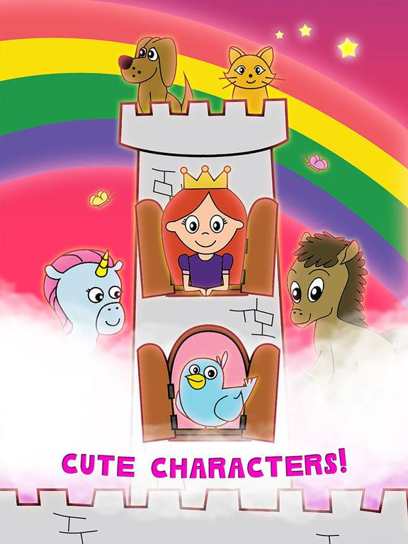 Princess Fairy Tale Coloring Wunderland für Kinder und Familie Preschool Ultimate Edition Screenshot