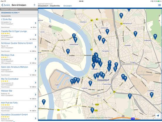 Das Örtliche Telefonbuch & Auskunft in Deutschland Screenshot