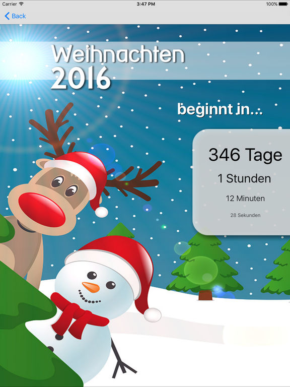 weihnachten 2016 im app store. Black Bedroom Furniture Sets. Home Design Ideas