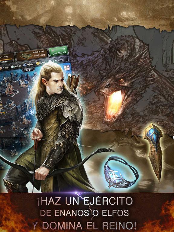 El hobbit: Reinos de la Tierra Media Screenshot