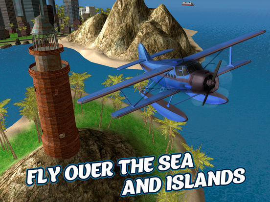Sea Plane Pilot Simulator 3D Full Screenshots