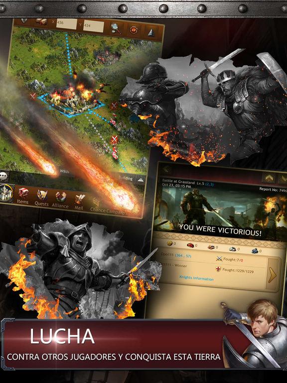Kingdoms of Camelot: La Batalla del Norte ® Screenshot