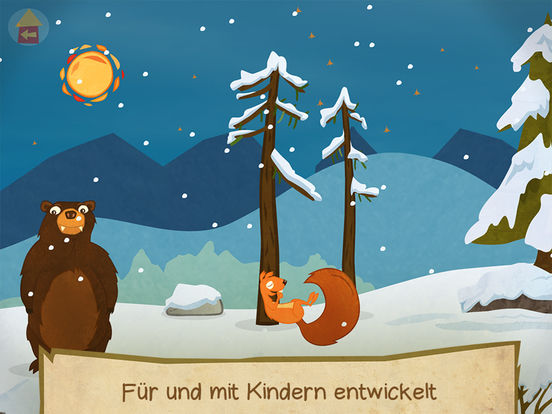 Squirrel & Bär - Einfach Englisch lernen. Ein Abenteuer / Lernspiel mit Eichhörnchen und Bär! Screenshot