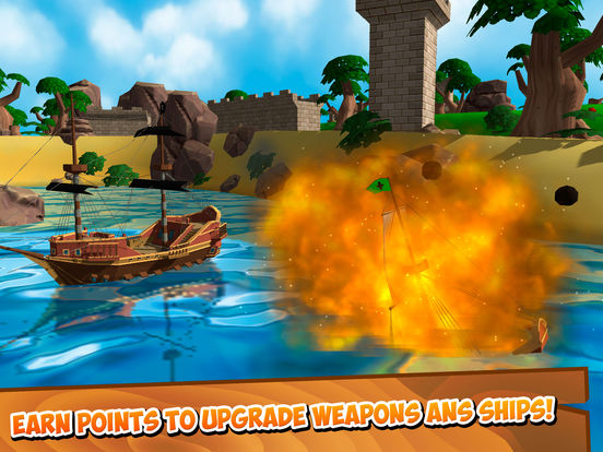 Pirate Ship Battle Wars 3D Full Screenshots