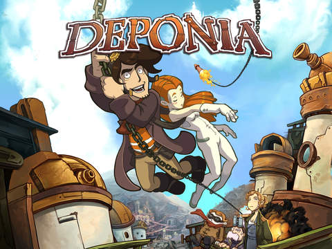 Deponia iOS Screenshots