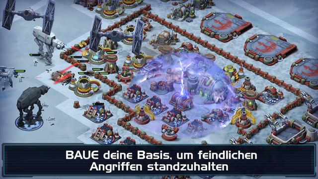 Star Wars: Commander - Worlds in Conflict iPhone iPad