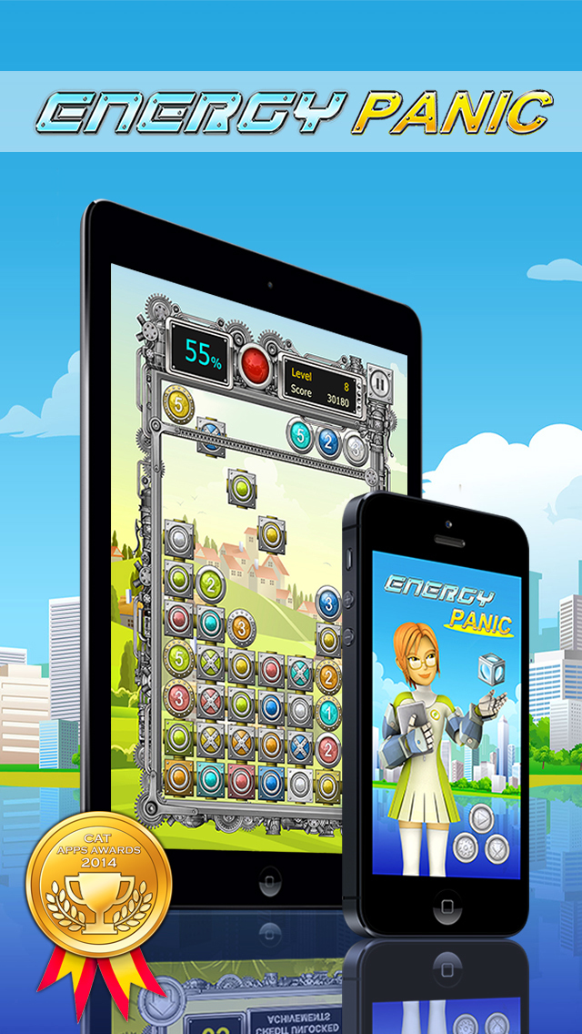 Energy Panic iOS Screenshots
