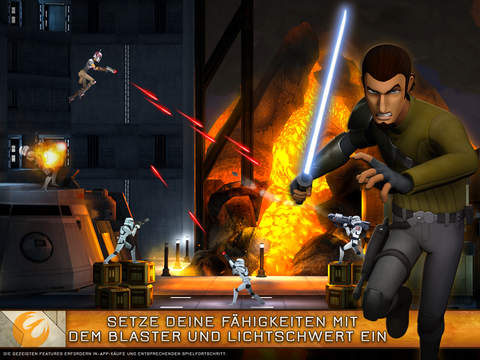 Star Wars Rebels: Mission Recon iOS Screenshots