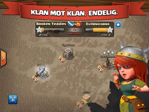 Clash of Clans iPad app afbeelding 5