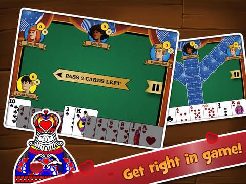 Hearts Multiplayer HD Screenshot