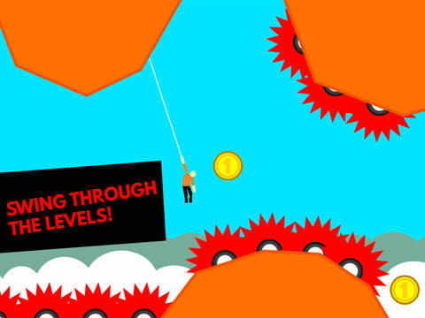 Hanger World - Rope Swing iOS Screenshots