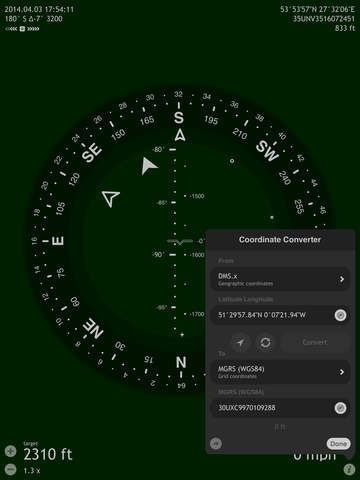 Commander Compass Screenshot