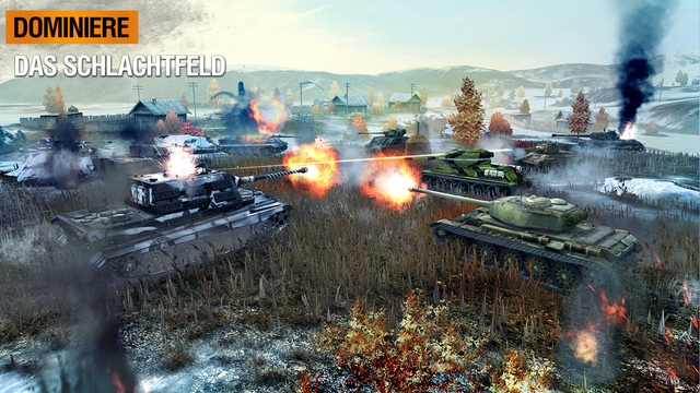 World of Tanks Blitz iOS
