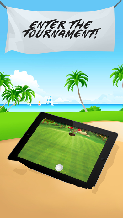 download Flick Golf Course Tour: Super Extreme Match apps 1