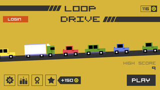 Loop Drive : Crash Race iOS Screenshots