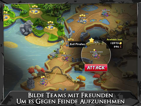 Raids of Glory iOS
