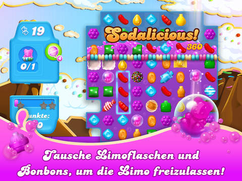 Candy Crush Soda Saga iOS Screenshots