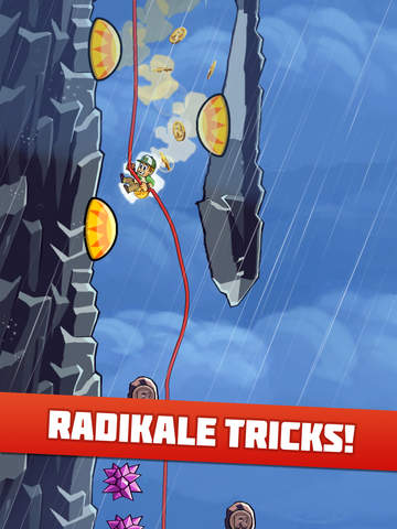 Radical Rappelling iPad