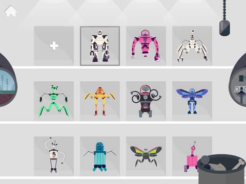 L'usine de robots
