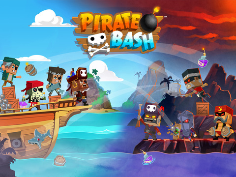 Pirate Bash iOS Screenshots