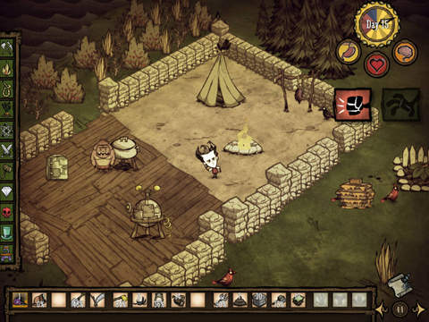 Don't Starve: Pocket Edition iOS Screenshots