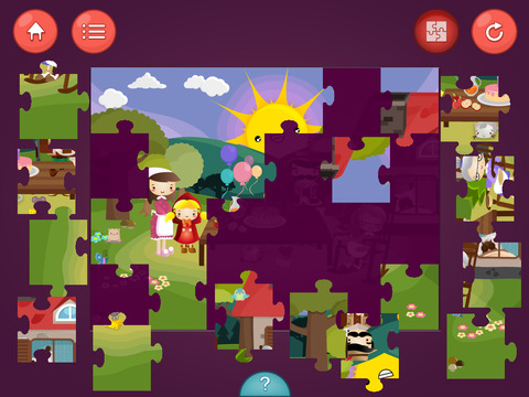 Screenshot - Little Red Riding Hood - Games  and  Story