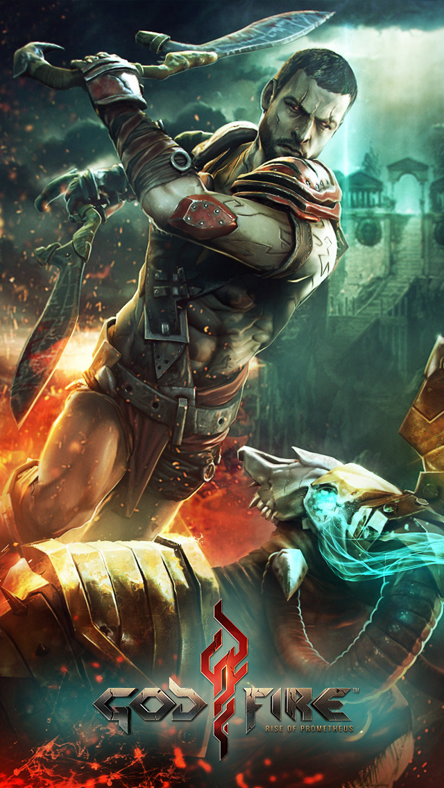 Godfire: Rise of Prometheus iOS Screenshots