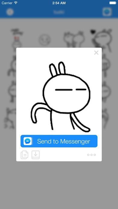 download GIF Stickers & Animated Emoticons for Facebook Messenger apps 2