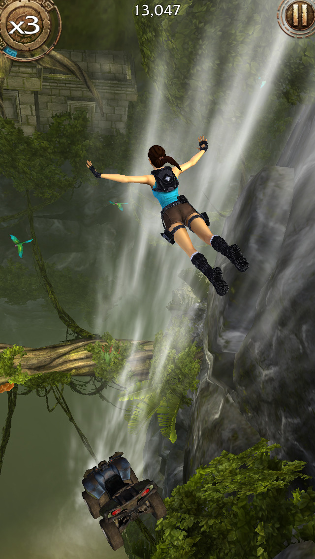 Lara Croft: Relic Run iOS Screenshots